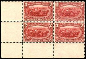 U.S. TRANS-MISS. ISSUE 286  Mint (ID # 83830)