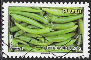 France 4260 Used - ‭Vegetables - Pimentos