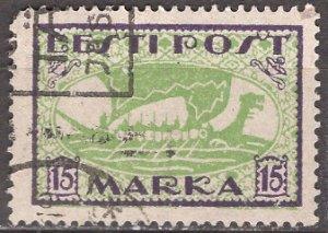 Estonia; 1919: Sc. # 36: O/Used Single Stamp