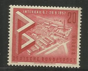 BERLIN  9N146  MNH, VIEW OF EXPOSITION GROUNDS