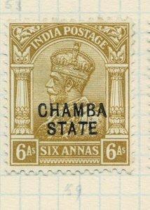 india chamba states- sg 50 -  lmm