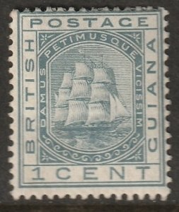 British Guiana 1882 Sc 107 MH*