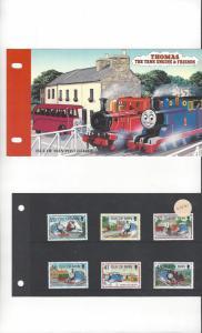Isle of Man 656-61 Thomas the Tank Engine MNH Presentation Folder