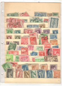 CUBA COLLECTION ON STOCK SHEET, MINT/USED