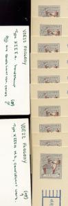 Ryukyu Islands UZE22 (VOE22)  Election Error Card Reference Lot ex. Maclellan