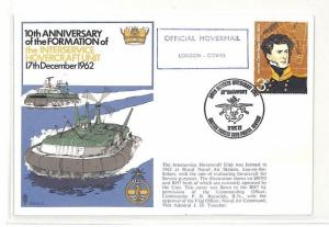 BK160 GB 1972 Anniversary Formation Inter Service Hovercraft Unit Cover PTS