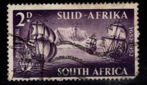 South Africa Scott 117 Used 1952 Ship stamp