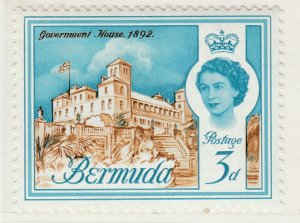 British Colony Bermuda 1962 3d MH* Stamp Historical Buildings A22P18F8918