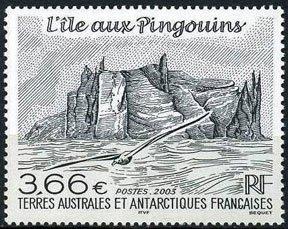 Scott #324 Lle aux Pingouins MNH
