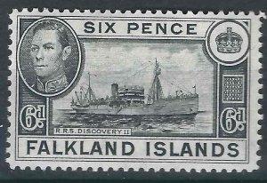 Falkland Is SG 156 MLH VF 1949 SGCV £9.00