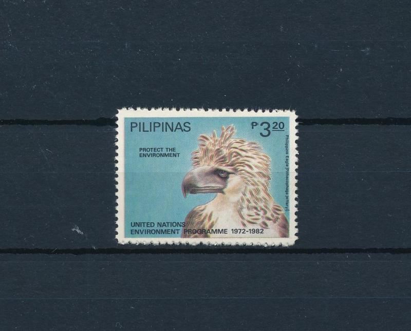 [52264] Philippines 1982 Birds Vögel Oiseaux Ucelli from set United Nations MNH
