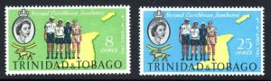 TRINIDAD  AND TOBAGO--1961     SG 248-49  scouts issue     -  - MM