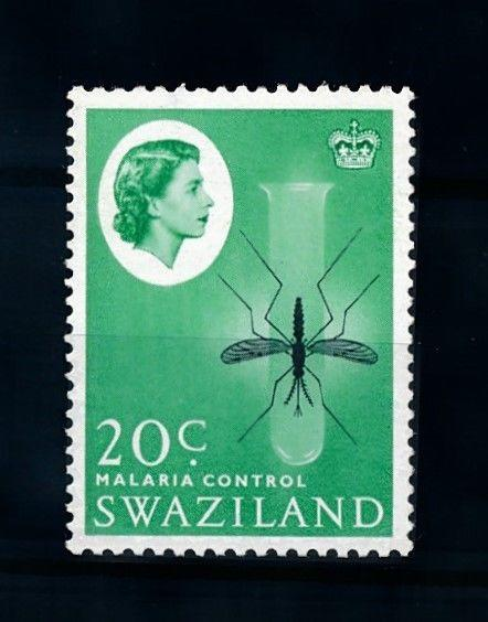 [70674] Swaziland 1962 Insects Malaria Mosquito From set MNH