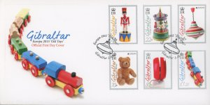 Gibraltar 1515-20 FDC cover toy (2110 161)