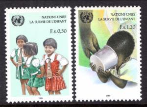 UN Geneva 138-139 MNH VF