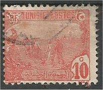 TUNISIA, 1906, used 10c, Mosque Scott 34