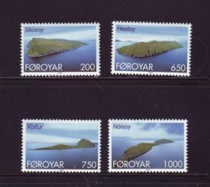 Faroe Islands Sc383-6 2000 Island stamp set NH