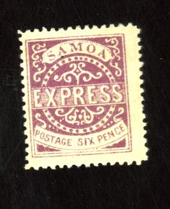 SAMOA #4c MNT F-VF OG LARGE HR Cat $55