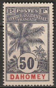 Dahomey 1906 Sc 27 MH*