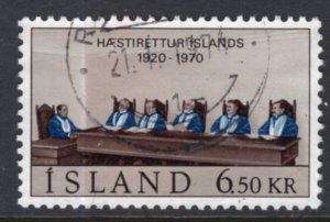 Iceland 416 Used VF