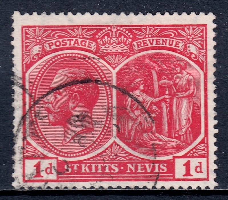 St. Kitts and Nevis - Scott #25 - Used - SCV $6.75