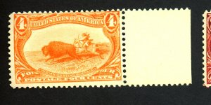 287 MINT F-VF OG NH Cat $275