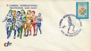 Costa Rica X Intl Race Neutrodor-San Juan, World Communication Sc 276 Cover 1983