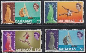 Bahamas 276-279 MNH (1968)