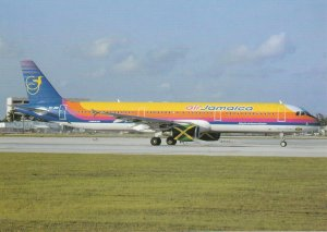 8445 Aviation Postcard  AIR JAMAICA A321 TROISDORF  Airlines