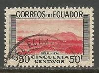 ECUADOR 581 VFU 525B-4