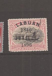 Labuan Jubilee 8c Boat SG 88 VFU (6auq)