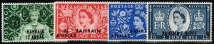 Bahrain SG# 90-93, Mint Hinged.       Lot 03162015