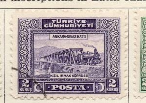 Turkey 1929-30 Early Issue Fine Used 2k. 152642