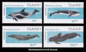 Iceland Scott 945-948 Mint never hinged.