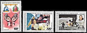Gabon 975-977, MNH, 20th Century Events