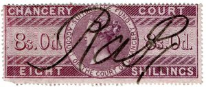 (I.B) QV Revenue : Chancery Court 8/- (1856)