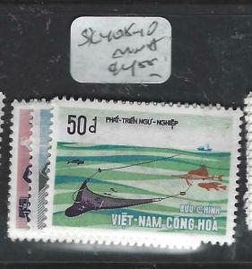 VIETNAM  (P1204BB)  SC 408-410   MNH