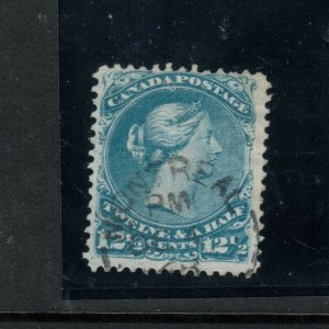 Canada #28 Used Fine With Montreal CDS Cancel