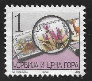 Serbia #196 1d #189b Under Magnifying Glass ~ MNH