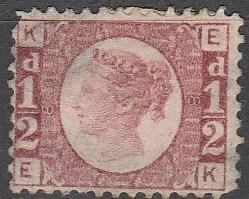 Great Britain #58 Plate 8   F-VF  Used CV $210.00 (C8169)