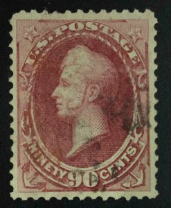 MOMEN: US STAMPS #191 USED VF/XF LOT #55261