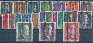 Stamp Austria Germany 1945 WWII Third Reich Hitler Osterreich Not Issued MNG 3