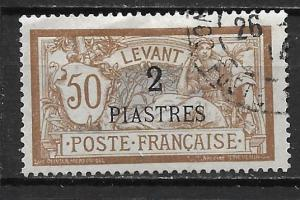 French Offices in Turkey 35 2pi single Used