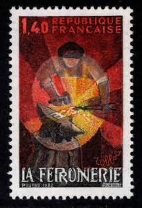France Scott 1826 MNH** 1982 Blacksmith stamp