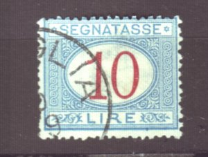 J22618 Jlstamps 1870-25 italy used #j20  postage due