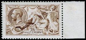 SG407, 2s 6d grey-brown, NH MINT. Cat £700. DE LA RUE.