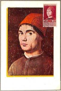 90111 - ITALY Trieste AMG-FTT -  MAXIMUM CARD - 1953 art ANTONELLO da MESSINA