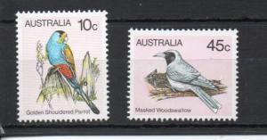 Australia 732a,736a MNH