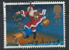Great Britain SG 2008  Used    - Christmas
