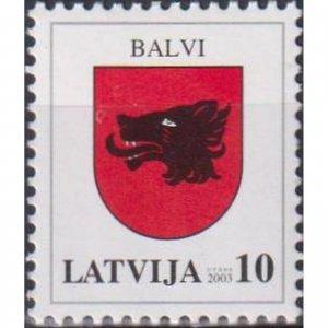Latvia 2003 Coats of arms of Latvia - Balvi  (MNH)  - Coats of arms